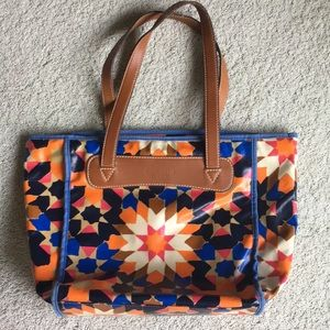 Fossil Sydney key per shopper tote bag